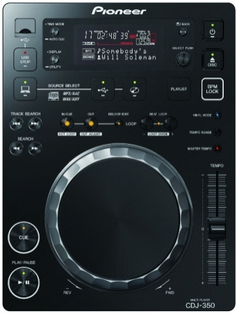Par de CDJs Pioneer 350 (Usadas)