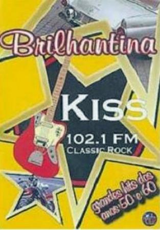 DVD - Various - Brilhantina - KISS 102.1 FM - Classic Rock