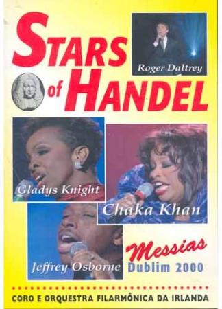 DVD - Various - Stars Of Handel - Messias Dublin 2000 Coro e Orquestra Filarmônica da Irlanda