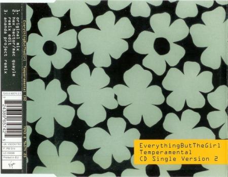 CD - Everything But The Girl - Temperamental CD 2