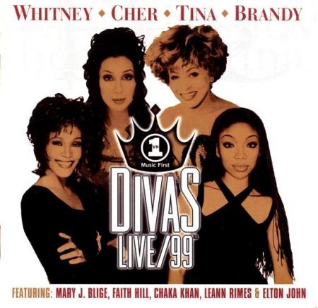CD - Various - VH1 Divas Live/99