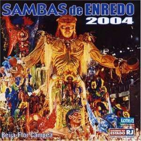 CD - Various - Samba De Enredo 2004 - Beija Flor Campeã
