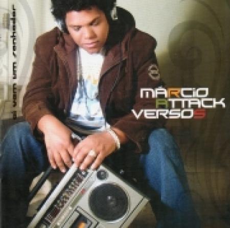 CD - Marcio Attack - Versos - Ai Vem Um Sonhador