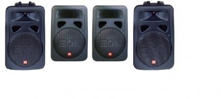 Sistema Completo de Caixa De Som E Sub Grave JBL EON 15 G2 (Usado)