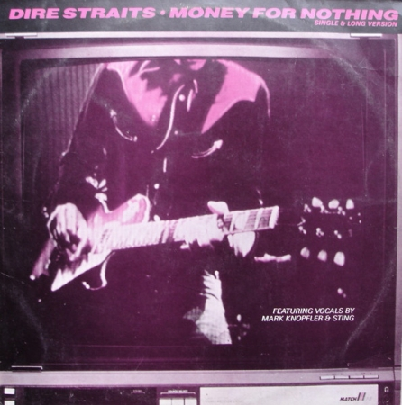Dire Straits - Money For Nothing (Single & Long Version)