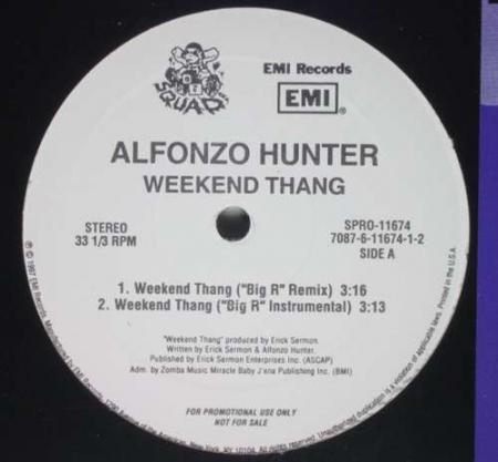 Alfonzo Hunter - Weekend Thang (Remix)