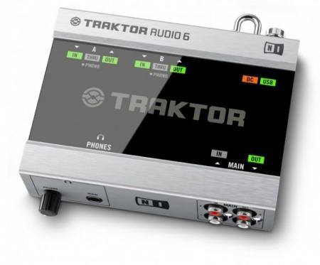 Placa de Audio Native Audio 6 Traktor (USADO)
