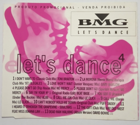 CD - Various - BMG Let's Dance 4