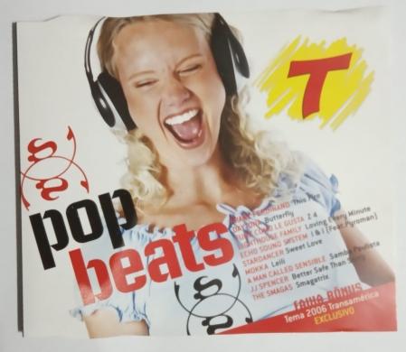 CD - Various - Pop Beats Revista Transamerica