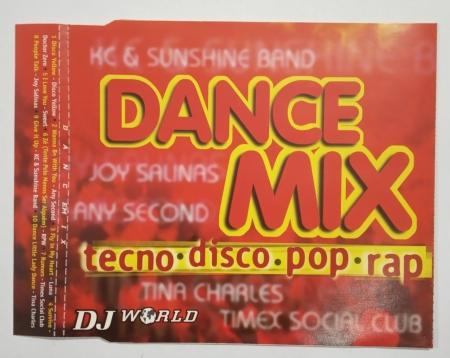 CD - Various - D.J. World Dance Mix