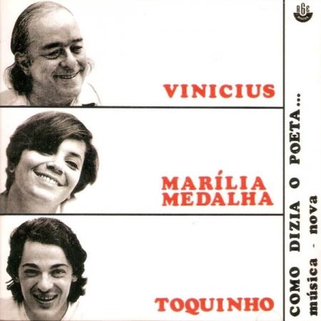 CD - Vinicius De Moraes, Marilia Medalha & Toquinho - Como Dizia O Poeta...