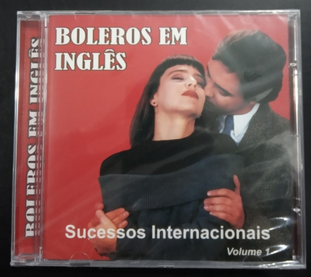 CD - VARIOUS - BOLEROS EM INGLES - VOLUME 01