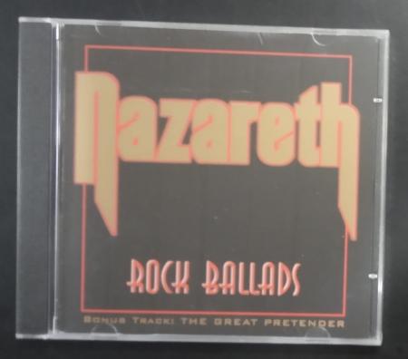 CD - NAZARETH - ROCK BALLADS
