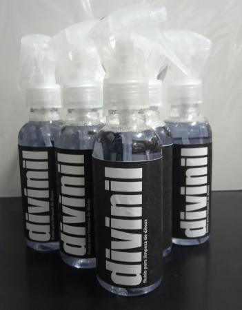 Fluído para limpeza de discos de vinil