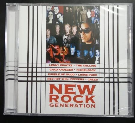 CD - VARIOUS - NEW ROCK GENERATION 01