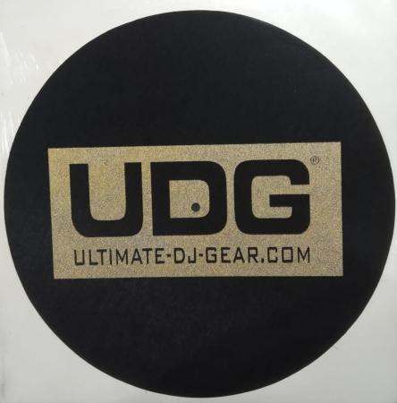 Feltro Fino - UDG Square (Preto e Dourado) (Unidade)