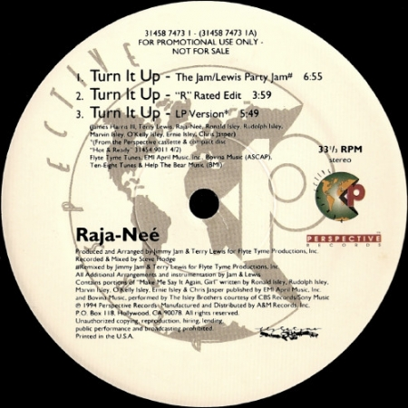 Raja-Neé - Turn It Up