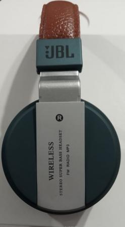 Headphone JBL B55 (Esmeralda) (Alça Marrom, Espumas Pretas)