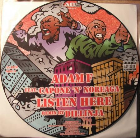 Adam F - Listen Here (Duplo / Picture Disc)