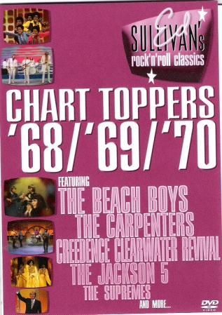 DVD - Various - Chart Toppers '68/'69/'70