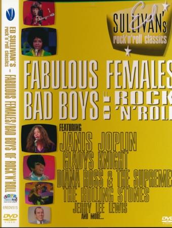 DVD - Various - Fabulous Females / Bad Boys Of Rock 'N' Roll