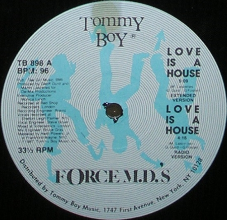 Force M.D.'s - Love Is A House