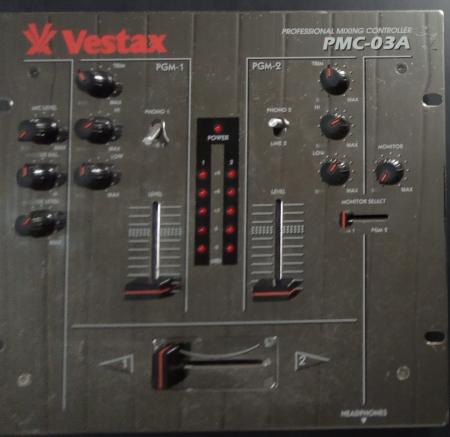 Mixer Vestax PMC-03 A (Usado)